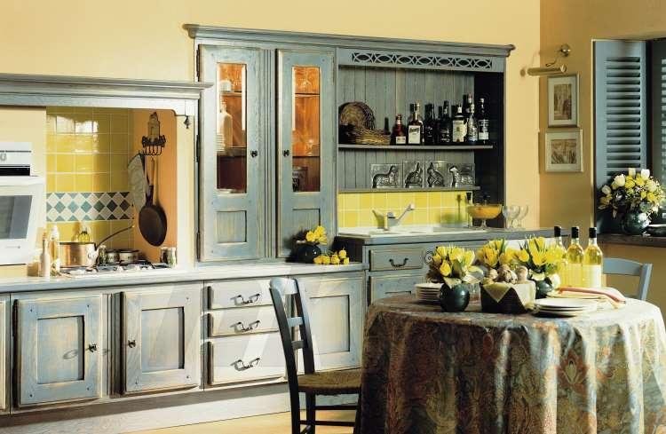 landhausk chen vollmassiv eiche. Black Bedroom Furniture Sets. Home Design Ideas