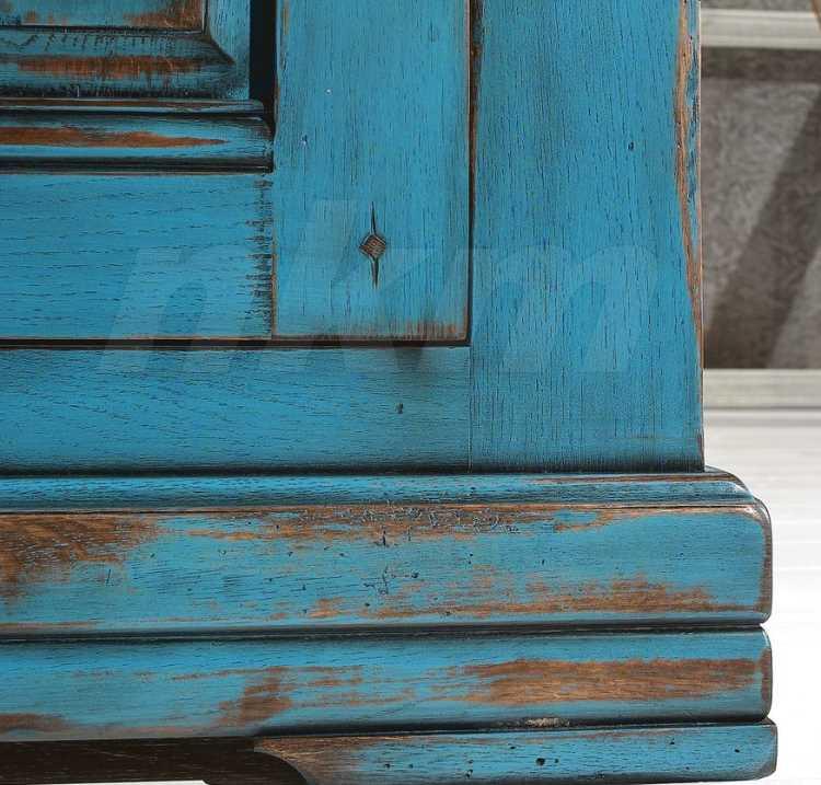 Farbige Landhausmöbel - Nostalgie Retro-Armaturen für Küche und Bad