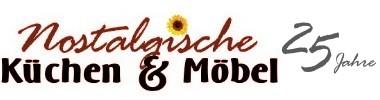 Nostalgische Küchen & Möbel, Landhausmöbel und Landhausküchen, Bauernmöbel, Eichenmöbel, Armaturen und Zubehör-Logo