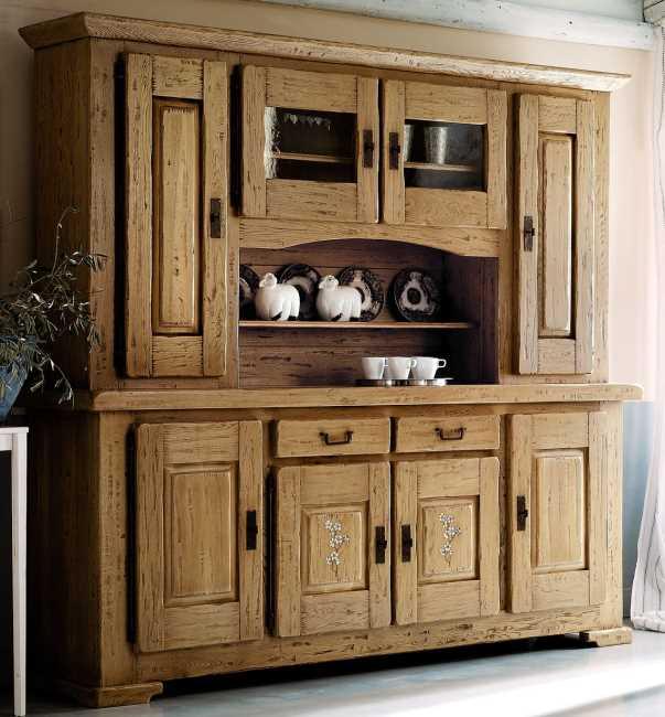 anrichte mit aufsatz luberon 2550 nostalgie retro armaturen im landhausstil. Black Bedroom Furniture Sets. Home Design Ideas