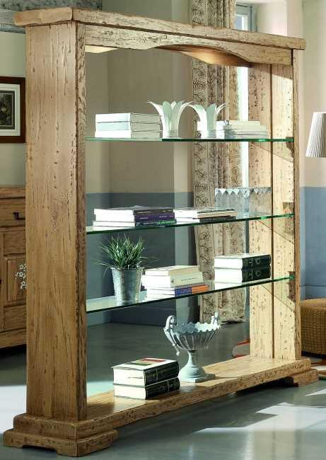 luberon 2565 raumteiler offenes regal nostalgie retro armaturen f r k che und bad. Black Bedroom Furniture Sets. Home Design Ideas